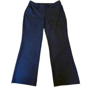 Loft Navy Tweed women's size 12 Julie Trouser